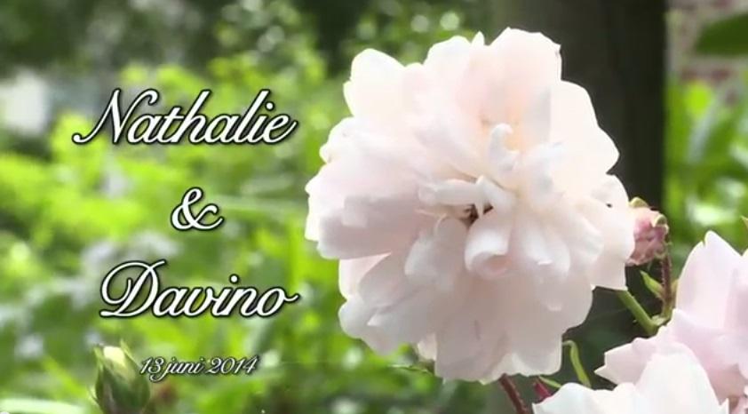 Trouwvideo sfeer Davino en Nathalie